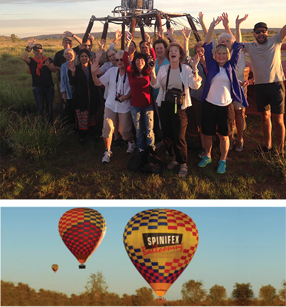 Spinifex Ballooning